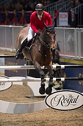 Francois Mathy and D atlantique Royale, Royal 2014 Hickstead FEI