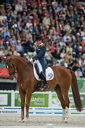 Adelinde Cornelissen and Jerich Parzival N.O.P. WEG 2014 Normand