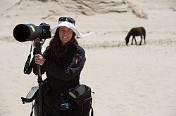 Photographer Shawn Hamilton on Sable Island