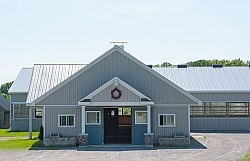 Saddlewood Appaloosa Show Large Barn Exterior