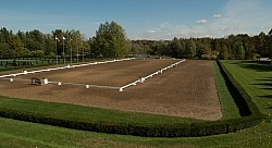 Outdoor Dressage Ring