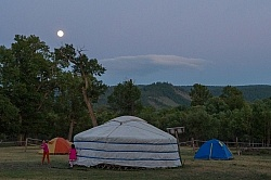 First nights camping