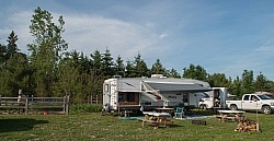 Campsite at Horse country Campground