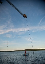 Bungee Jumping at Wilderness Tours at Horse Country Campground