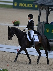 Rolex Dressage Jessica Phoenix and Exponential Rolex 2011