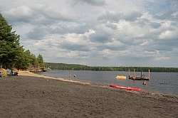 Beach at Horse Country Campground