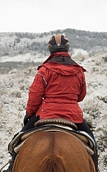 Trail Riding Winter Lazy C U Ranch