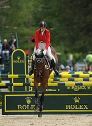 Rebecca Howard and Riddle Master Rolex 2011