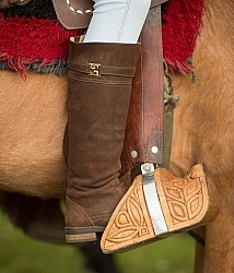 Wooden Stirrup at The Local Rodeo