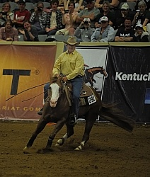 David Oconnor and Paid by Corona  Ariat Kentucky Reining Cup Freestyle