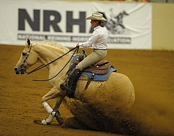 Karen O Connor and Chevy Dun It  Ariat Kentucky Reining Championship