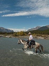 River Crossing Spring Summer Trail Riding