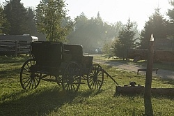 Morning Light at Horse Country Campground