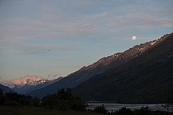 Full Moon at Boundary Hut, Wild Womens Expeditions with Adventure Horse Trekking New Zealand