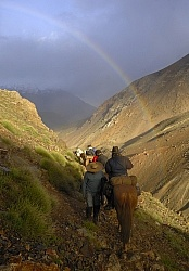 Crossing The Andes Rainbow