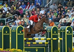Kyle Carter and Madison Park WEG 2010
