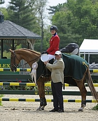 Marilyn Little-Meredith and RF Demeter Rolex 2012