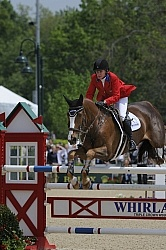 Karen O'Connor and Mr. Medicott Rolex 2012