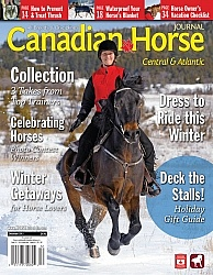 Canadian Horse Journal Winter 2012 Cover