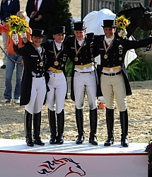 Alltech WEG Dressage German Dressage Team WEG 2010