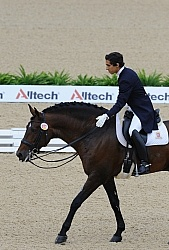 Goncalo Carvalho and Rubi WEG 2010