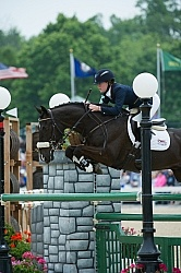 Rolex Stadium Jumping Madeline Blackman and Gordonstown Rolex 2012