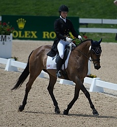 Rachel McDonough and Irish Rhythm Rolex 2014