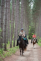 Trail Riding in Group