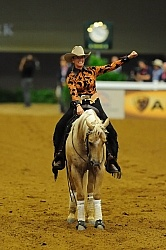 Anky Van Grunsven and Whizashiningwalla BB Weg 2010 Reining