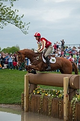 Boyd Martin and Rock on Rose Rolex 2010