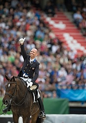 Steffen Peters and Legolas 92 Grand Prix Special WEG 2014 Norman