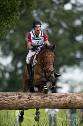 Peter Barry CAN and Kilrodan Abbott on course at WEG 2014 Norm