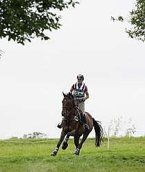 Jessica Phoenix and Pavarotti on Course at WEG 2014 Normandy, Fr