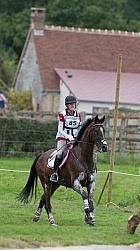 Selena O Hanlon and Foxwood High on course at WEG 2014 Normandy,
