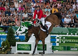 Peter Barry and Kilrodan Abbott Eventing SJ WEG 2014 Normandy, F