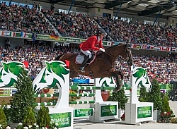 Selena O Hanlon and Foxwood High EV SJ WEG 2014 Normandy, France