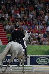 Michael Eilberg and Half Moon Delphi Grand Prix Freestyle WEG 20