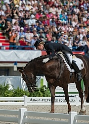 Helen Langehanenberg and Damon Hill NRW Freestyle Grand Prix WEG