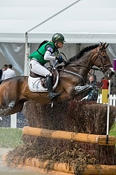 Camilla Speirs IRL and Portersize Just a Jiff on course at WEG