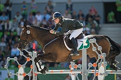 Camilla Speirs and Portersize Just a Jiff Eventing SJ WEG 2014 N