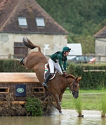 Joseph Murphy and Electric Cruise on course at WEG 2014 Normandy