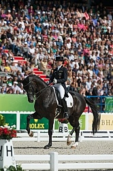 Kristina Sprehe and Desperados FRH Grand Prix Special WEG 2014 Normandy, France