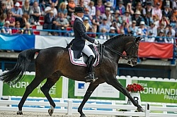 Nathalie zu Sayn Wittgenstein and Digby Freestyle WEG 2014 Norma