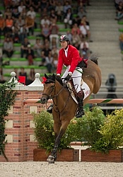Ian Millar and Dixson WEG 2014 Normandy, France