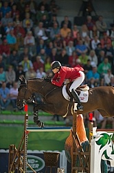 Tiffany Foster and Verdi III WEG 2014 Normandy, France
