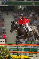 Beezie Madden and Cortes  C  Bronze Medal Winner WEG 2014 Norman