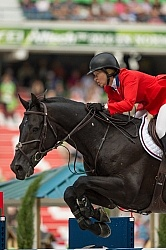 Beezie Madden and Cortes  C  Jumping WEG 2014 Normandy, France