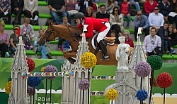McLain Ward and Rothchild WEG 2014 Normandy, France