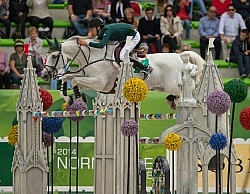 Bertram Allena and Molly Malone V WEG 2014 Normandy, France