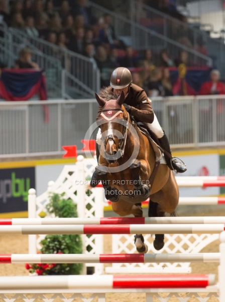 Todd Minikus and Quality Girl,RAWF 2014,Hickstead FEI World Cup